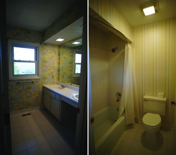 Upstairs hall full bathroom